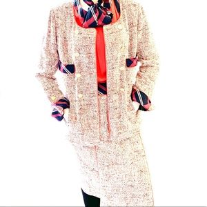🍒Vintage CHANEL Three-Piece Tweed Suit (90s)
